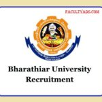 Bharathiar University Recruitment 2019